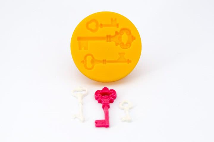 dekofee Silikonform Schlüssel