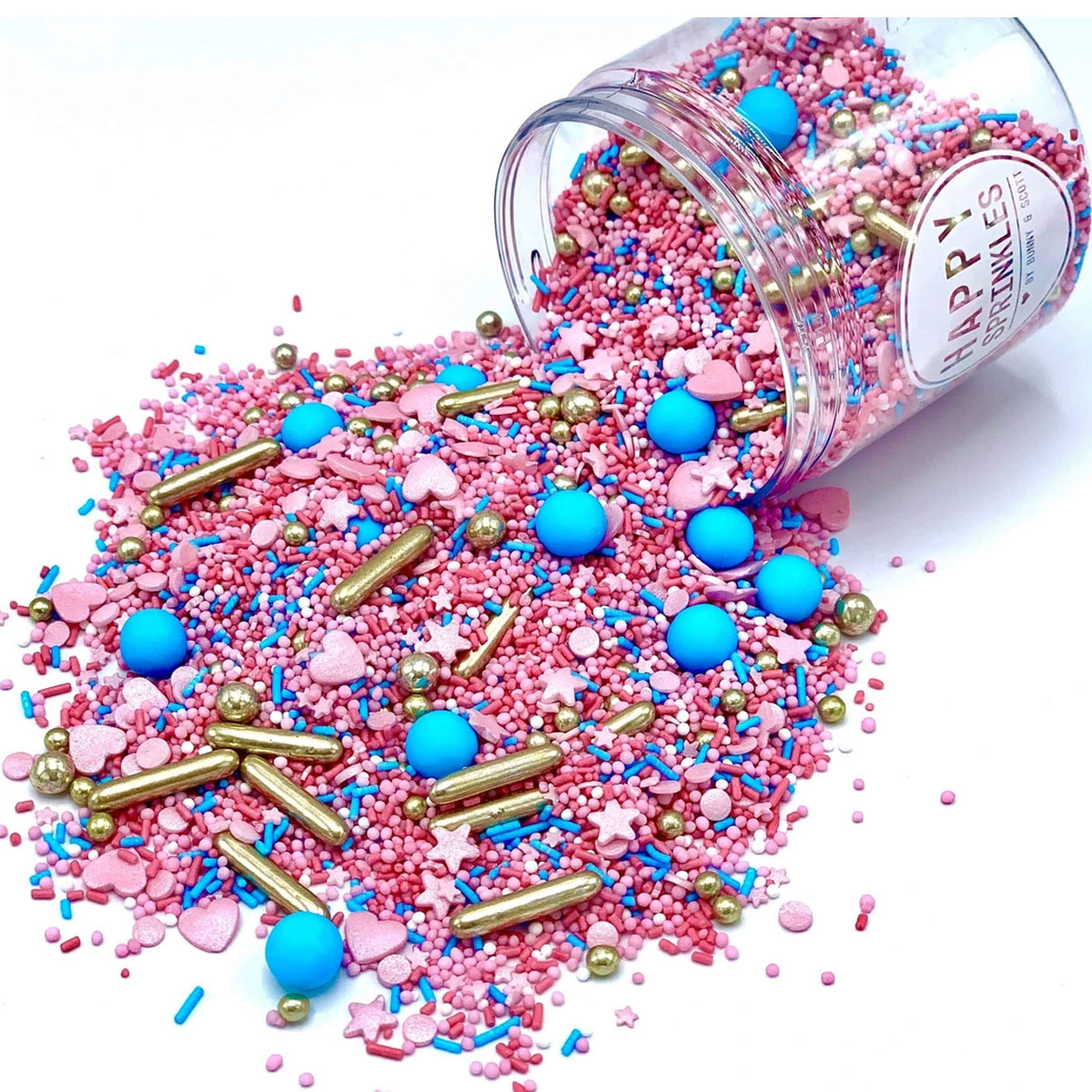 Happy Sprinkles Streuselmix - Royal Glitter 180g