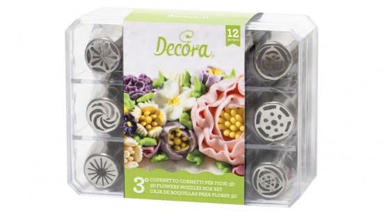 Decora 3D Blumentüllenset 12 Stück No.3