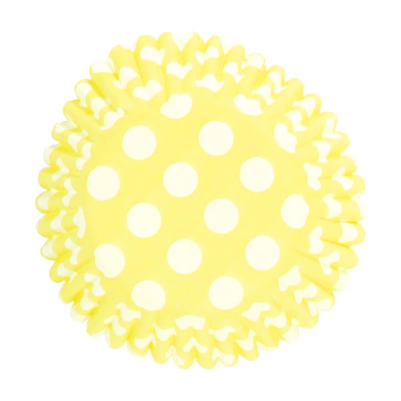 Culpitt Cupcake Förmchen Gelb 54 Stück