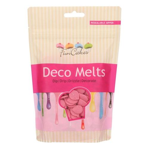 Funcakes Deko Melts - Rosa 250g