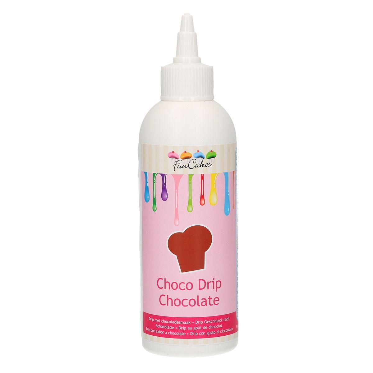 Funcakes Choco Drip - Chocolate Braun 180g