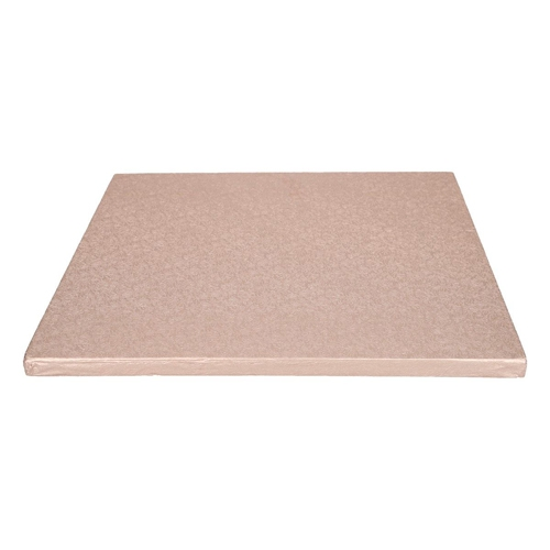 Cake Board Quadrat 30cm - Rose-gold