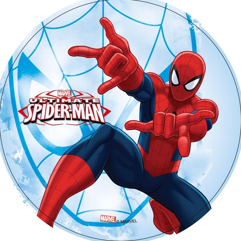 Tortenaufleger Esspapier  - Spiderman Motiv 2