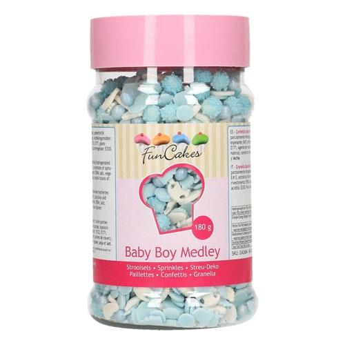 Funcakes Sprinkles Medley - Baby Boy 180g
