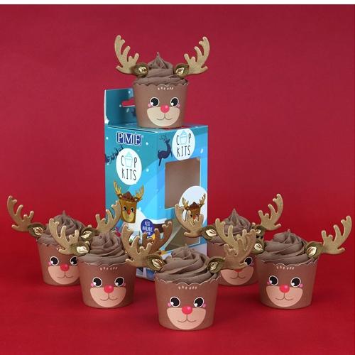Cupkits - Cupcake Decorationsset Rentier