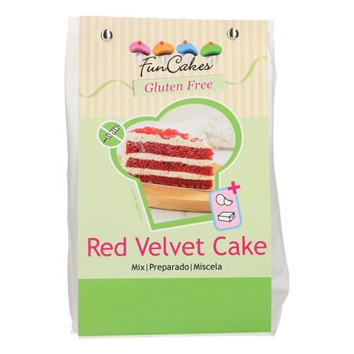 Funcakes Mix für Red Velvet Cake - Glutenfrei 400g