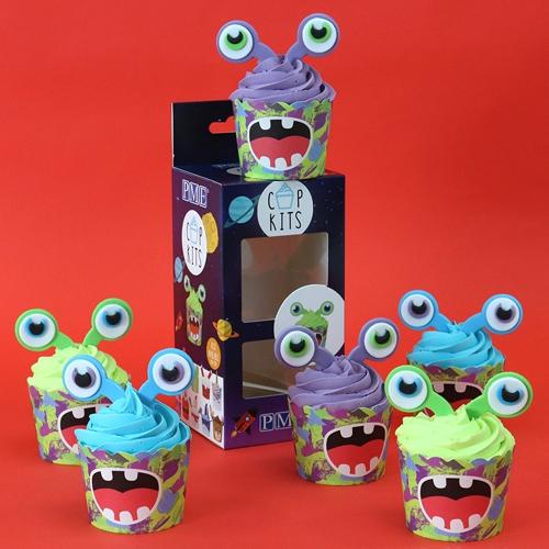 Cupkits - Cupcake Decorationsset Aliens