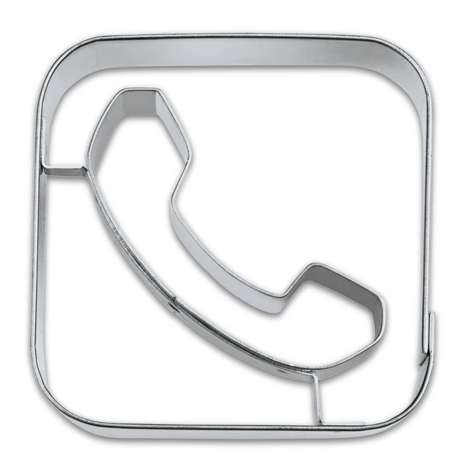 App Cutter Phone 5cm Edelstahl