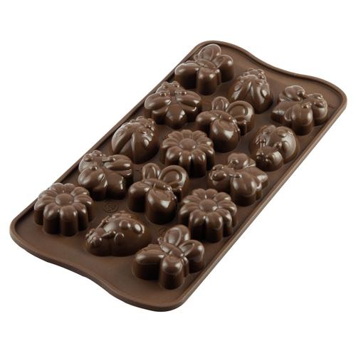 Silikomart Chocolate Mould - Springlife