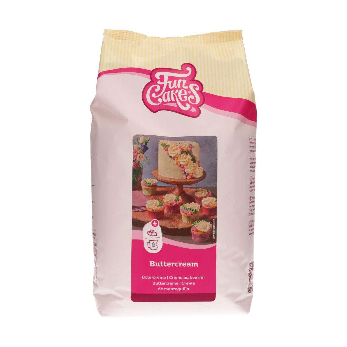 FunCakes Mix für Buttercreme 4 Kg