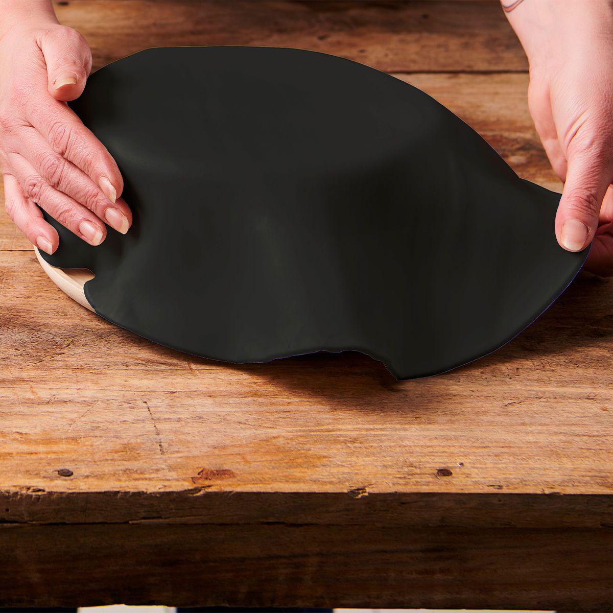 Funcakes ausgerollte Fondantdecke - Schwarz 36cm