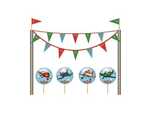 Cake Topper - Cake Decorating Kit - Planes