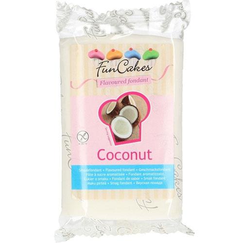 Funcakes Fondant Geschmack Kokos 250g