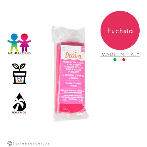 Decora Pasta di Zucchero - Fondant Fuchsia 100g