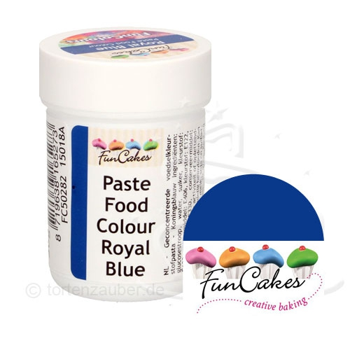 Funcakes Funcolours Pastenfarbe - Royal Blue 30g