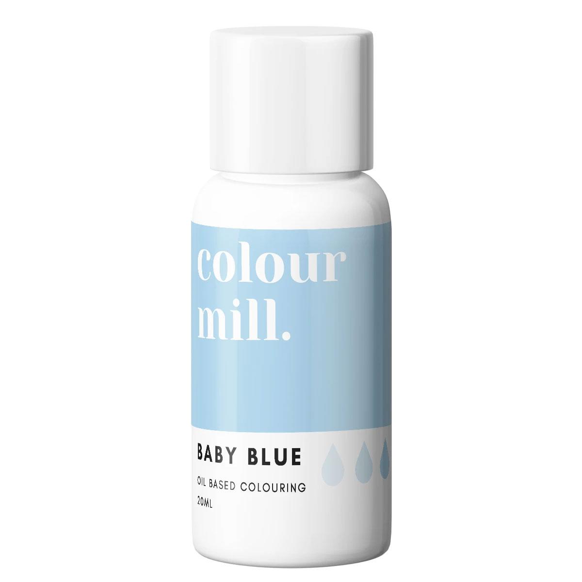 Colour Mill fettlösliche Lebensmittelfarbe - Baby Blue 20ml