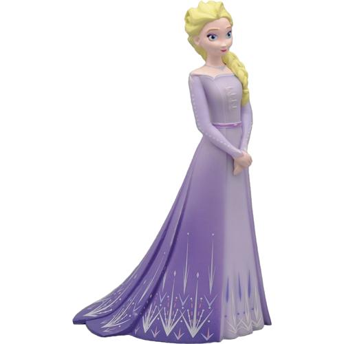 Dekorative Tortenfigur Frozen 2 - Elsa im lila Kleid