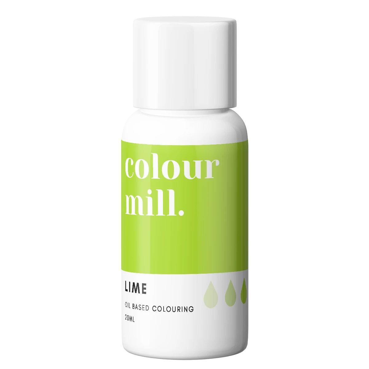 Colour Mill fettlösliche Lebensmittelfarbe - Lime 20ml
