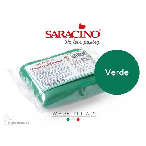 Saracino Modellierpaste - Grün / Dunkelgrün 250g