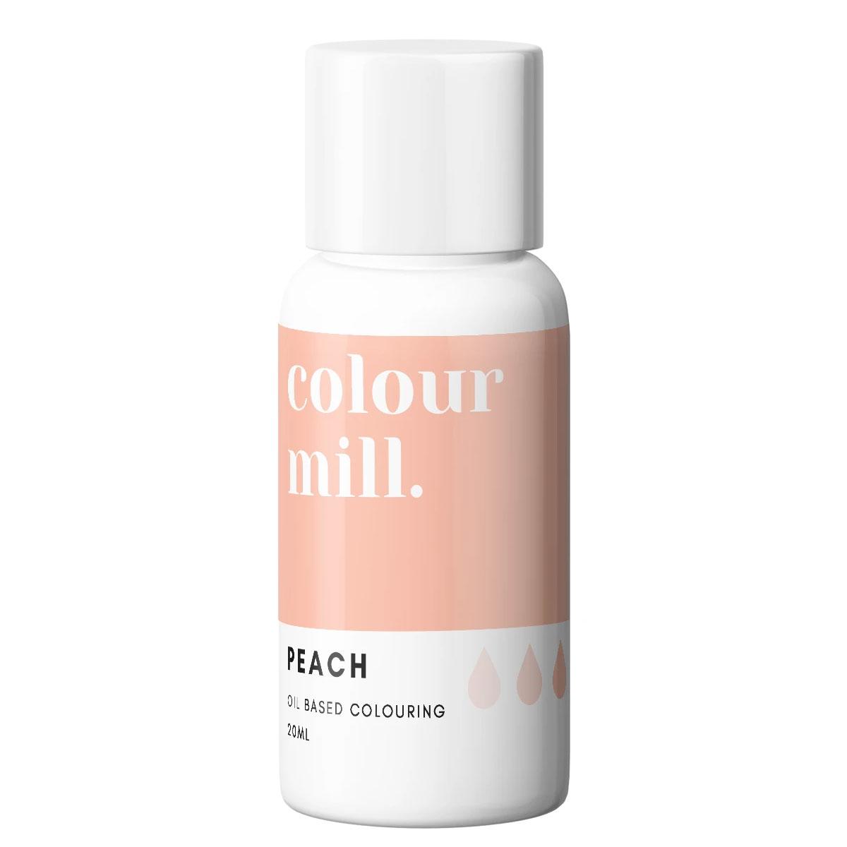 Colour Mill fettlösliche Lebensmittelfarbe - Peach 20ml