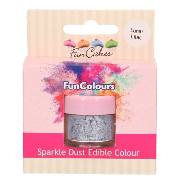 Funcakes Edible Sparkle Dust - Lunar Lilac