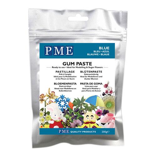PME Gum Paste - Blütenpaste Blau 200g