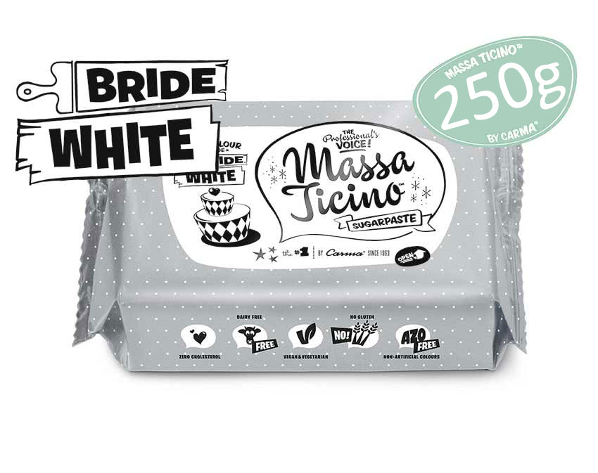 Massa Ticino Tropic - Bride White 250g
