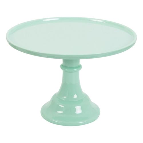 Tortenplatte klassisch - Mint Grün 30cm