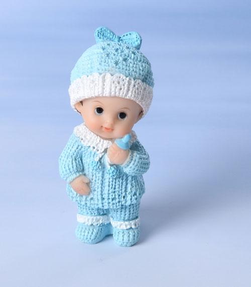 Decorative Tortenfigur Kleinkind Junge - Blau
