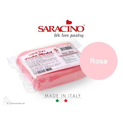 Saracino Modellierpaste - Rosa 250g