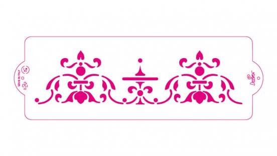 Decora Schablone Persia 10 x 30cm