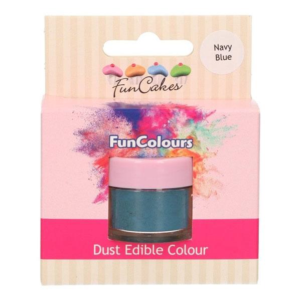 Funcakes Edible FunColours Dust - Navy Blue