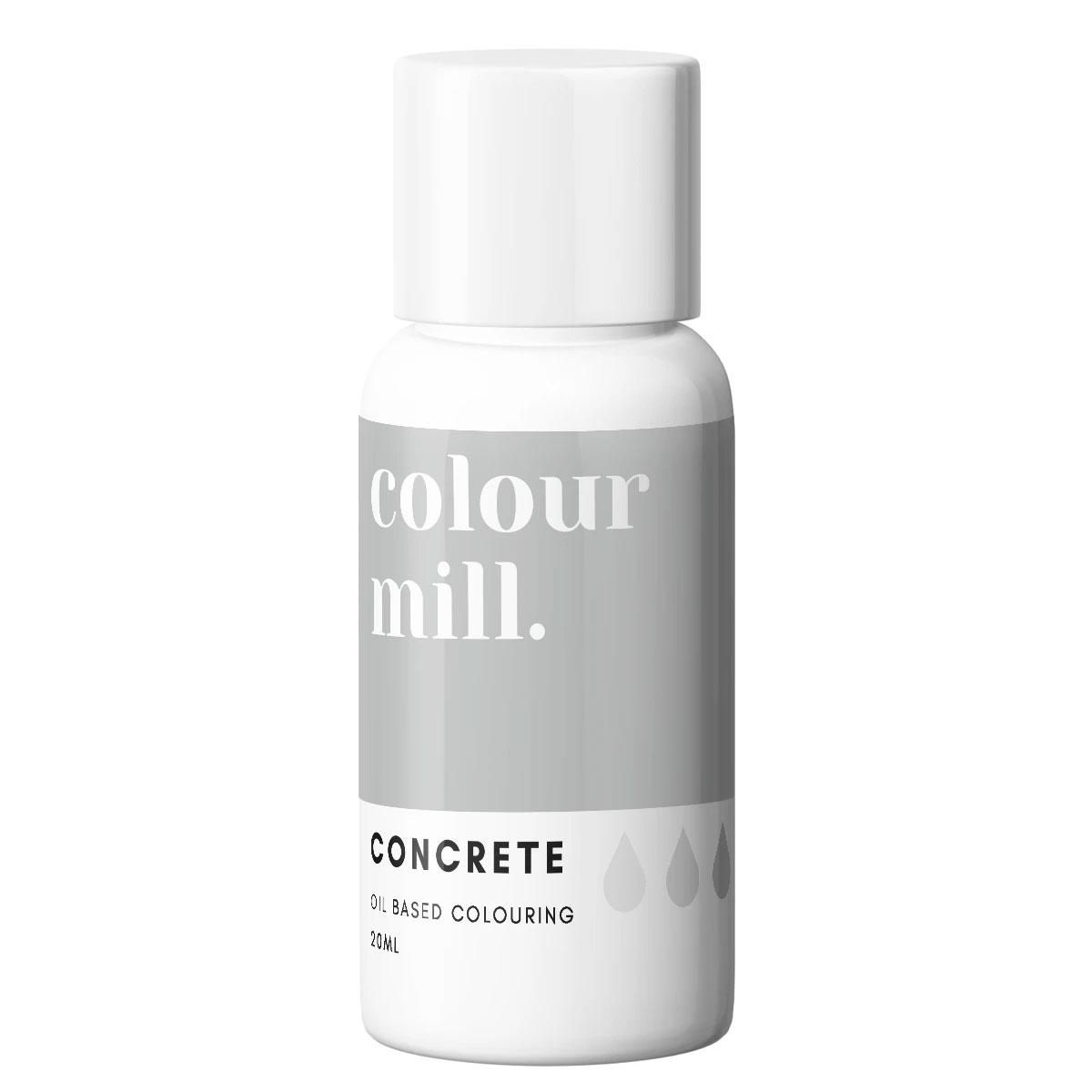 Colour Mill fettlösliche Lebensmittelfarbe - Concrete 20ml