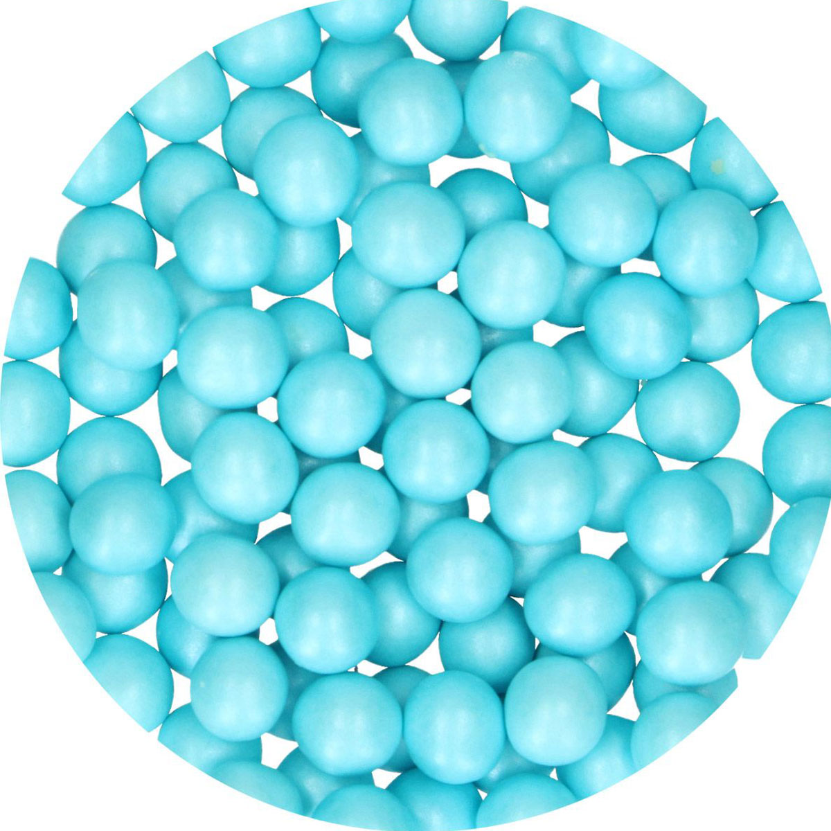 FunCakes Candy Choco Pearls Large Blue 70g