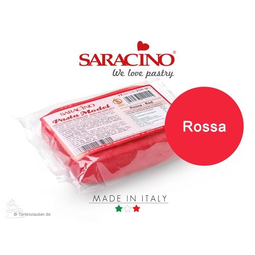 Saracino Modellierpaste - Rot 250g