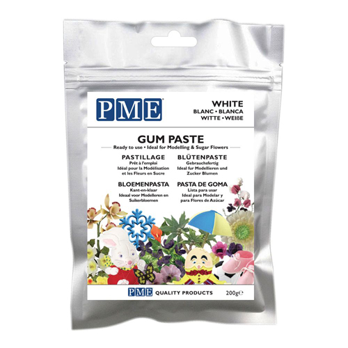 PME Gum Paste - Blütenpaste White 200g