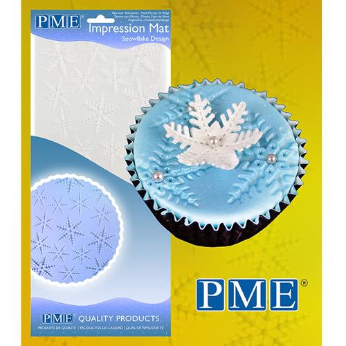 PME Prägematte Schneeflocken