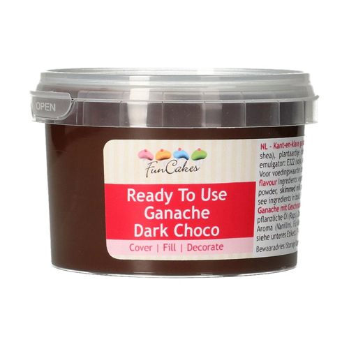 FunCakes Ready To Use Ganache Dark Choco 260g
