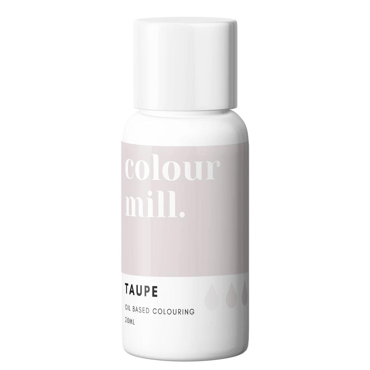 Colour Mill fettlösliche Lebensmittelfarbe - Taupe 20ml