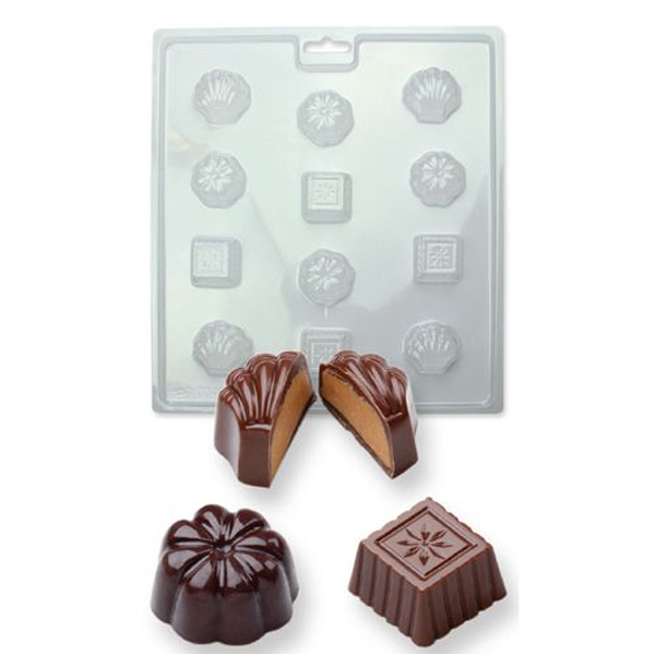 PME Candy Mould - Gießform Classic Chocolates