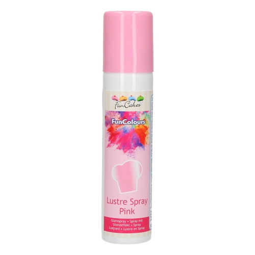 Funcakes Funcolours Metallic Spray - Pink 100ml