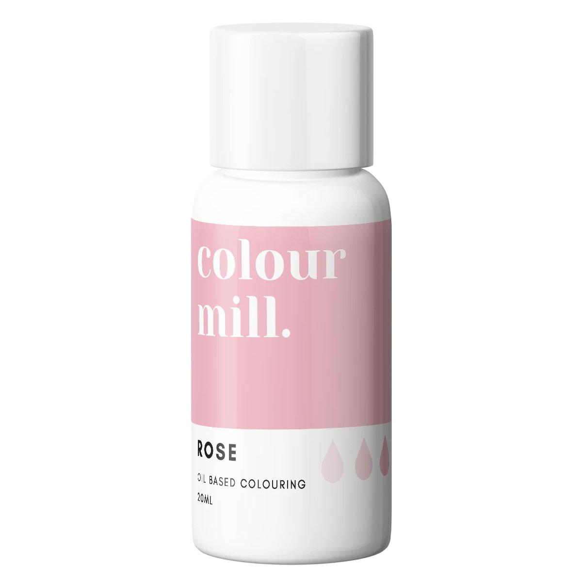 Colour Mill fettlösliche Lebensmittelfarbe - Rose 20ml