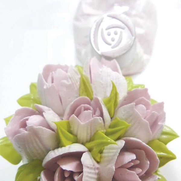 Bakeless Piping Flower Nozzle - Poppy