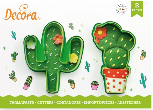 Decora Ausstecher - Kaktus Set