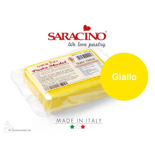 Saracino Modellierpaste - Gelb 250g