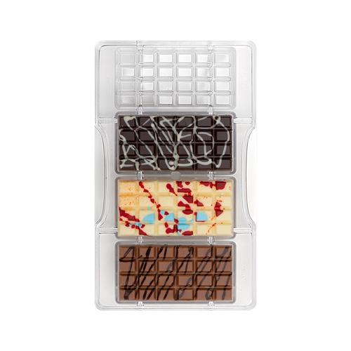 Decora Profi- Schokoladenform Schokoladentafel Classic