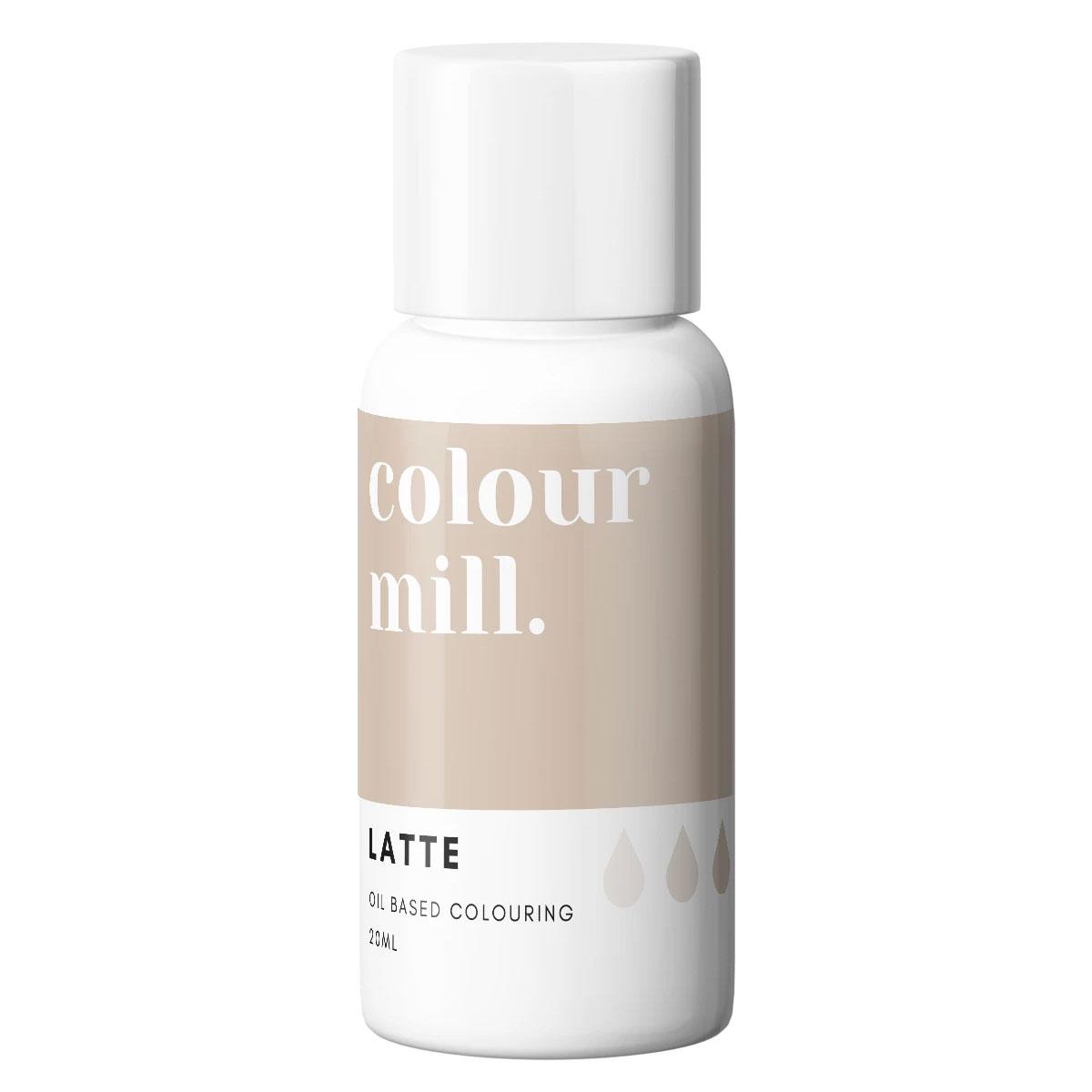 Colour Mill fettlösliche Lebensmittelfarbe - Latte 20ml