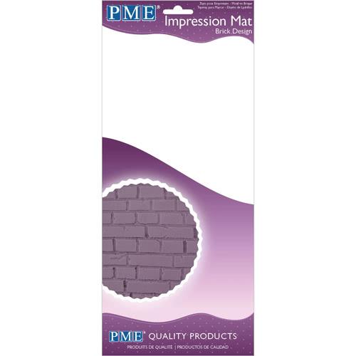 PME Prägematte Ziegelsteine - Brick