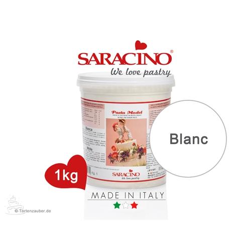 Saracino Modellierpaste - Weiß 1Kg
